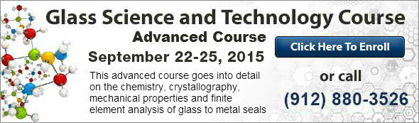 Lectures on Glass To Metal Sealing