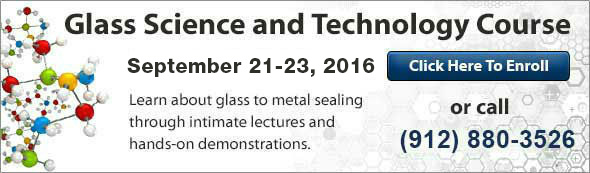 Glass Science & Technology Course - September 21-23, 2016