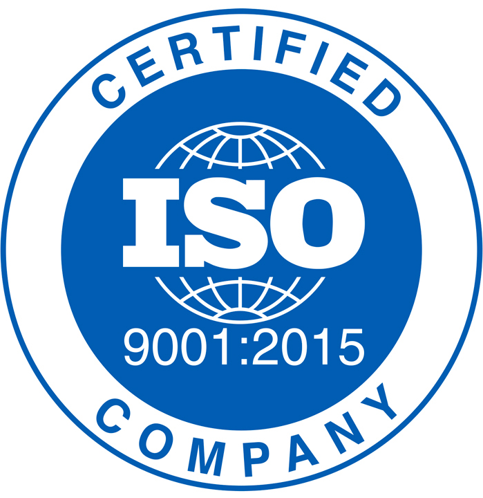 ISO 9001:20018 Certification